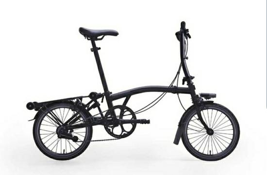 S2L-X Superlight Black Edition 2020 Folding Bike