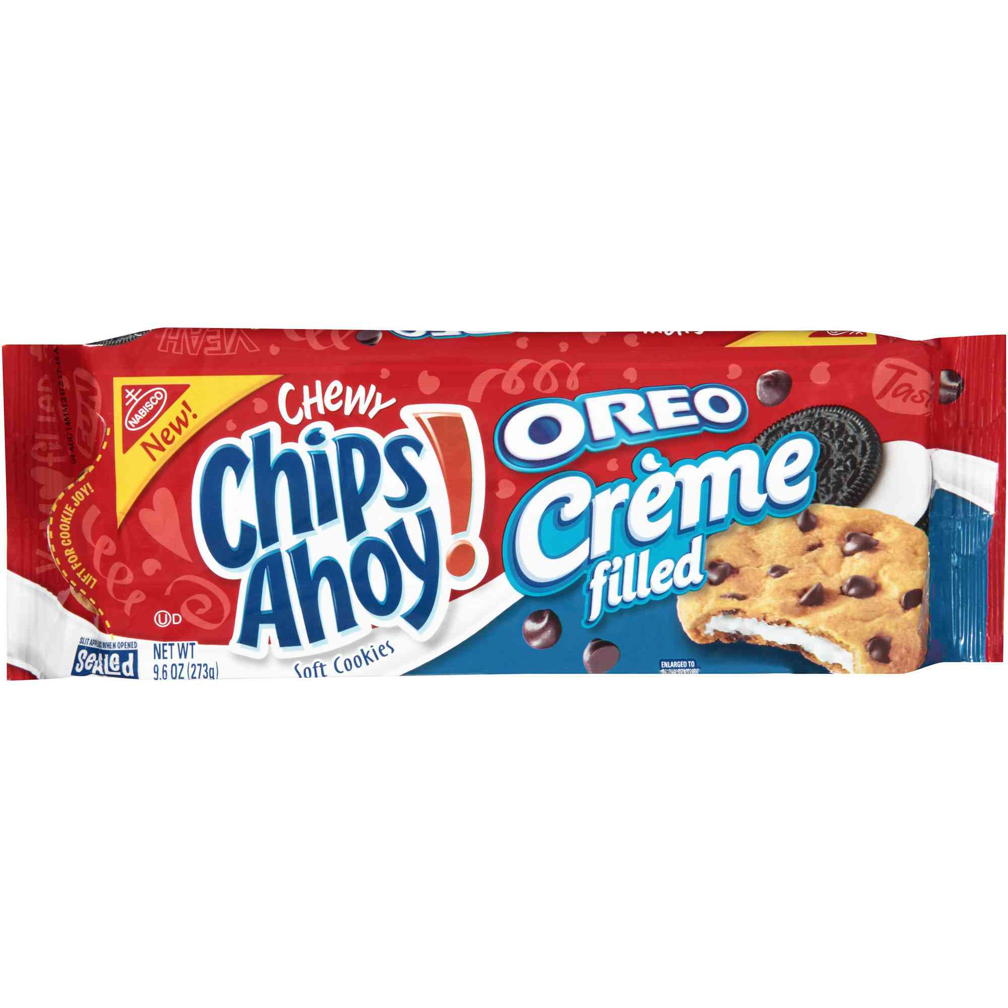 Nabisco Chips Ahoy Oreo Creme Filled