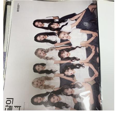 LOONA Chuu & Gowon, Gowon & Olivia posters