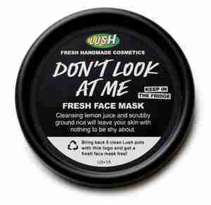 Lush dont look at me mask