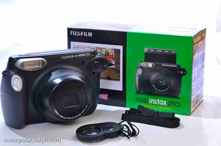 Fujifilm Instax 210 with 3 pack and case