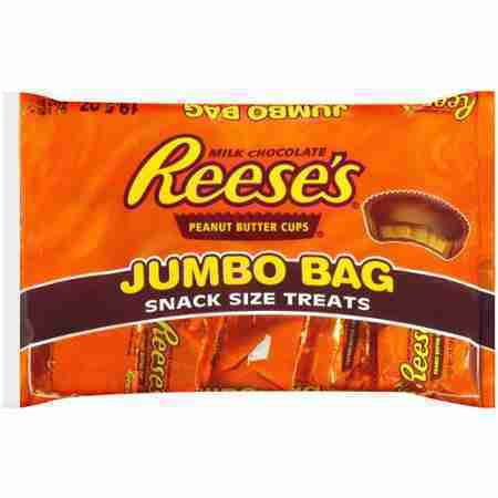 Reeses Snack Size Treats Chocolate, 19.5 oz