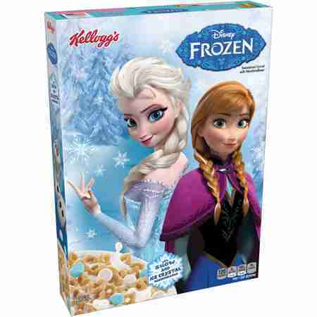 Kelloggs Disney Frozen Cereal, 8.4 oz