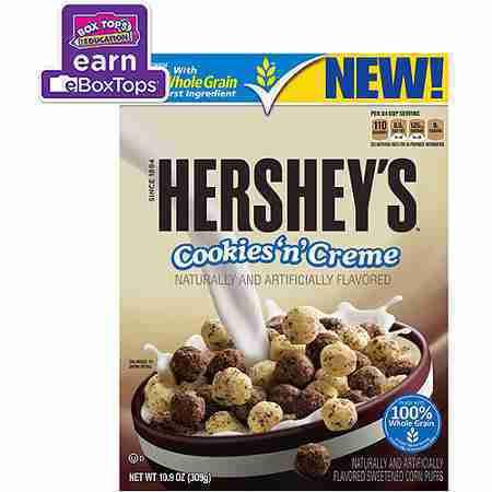 Hersheys Cookies n Creme Cereal, 10.9 oz