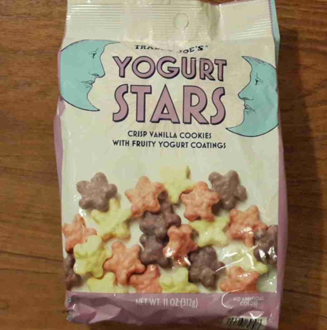 Trader Joes Yogurt Stars