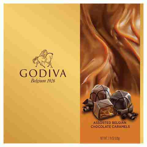 Godiva Assorted Chocolates Caramel