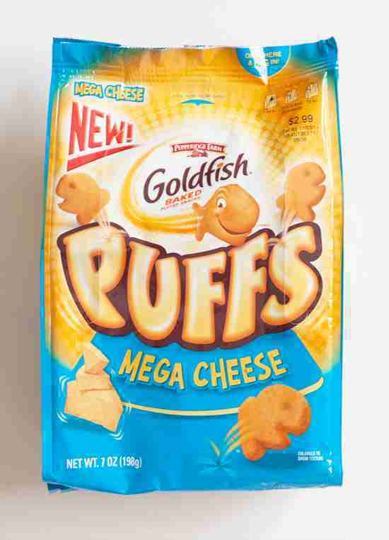 goldfish cheese puffs