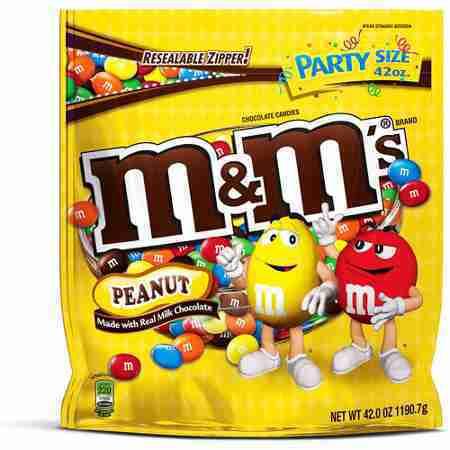 M&MS Peanut, 42 oz
