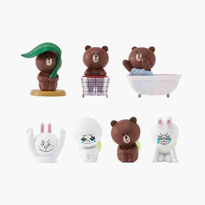 Line Friends Figurine