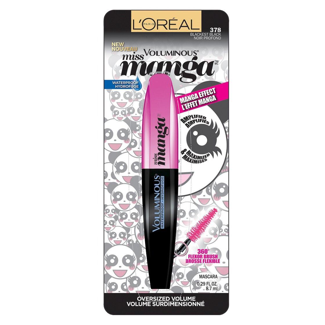 9dcb47e8bec ShopandBox - Buy LOreal Paris Voluminous Miss Manga Mascara from US