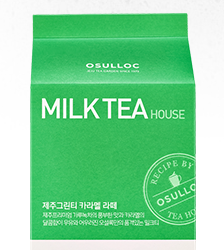 Osulloc Milk Tea House Green Tea Caramel