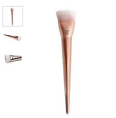 real techniques bold metals contour brush. real techniques bold metals 301 flat contour brush
