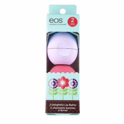 eos Smooth Lip Balm Sphere Limited Edition Spring 2-pack