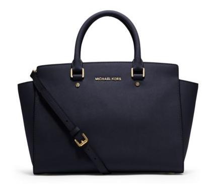 Michael Kors - Selma large saffiano leather satchel
