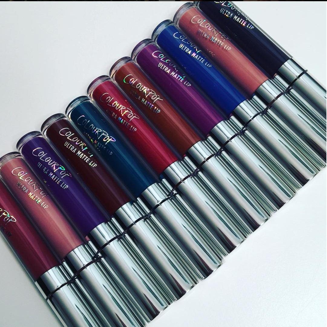 colourpop ultra matte lipsticks