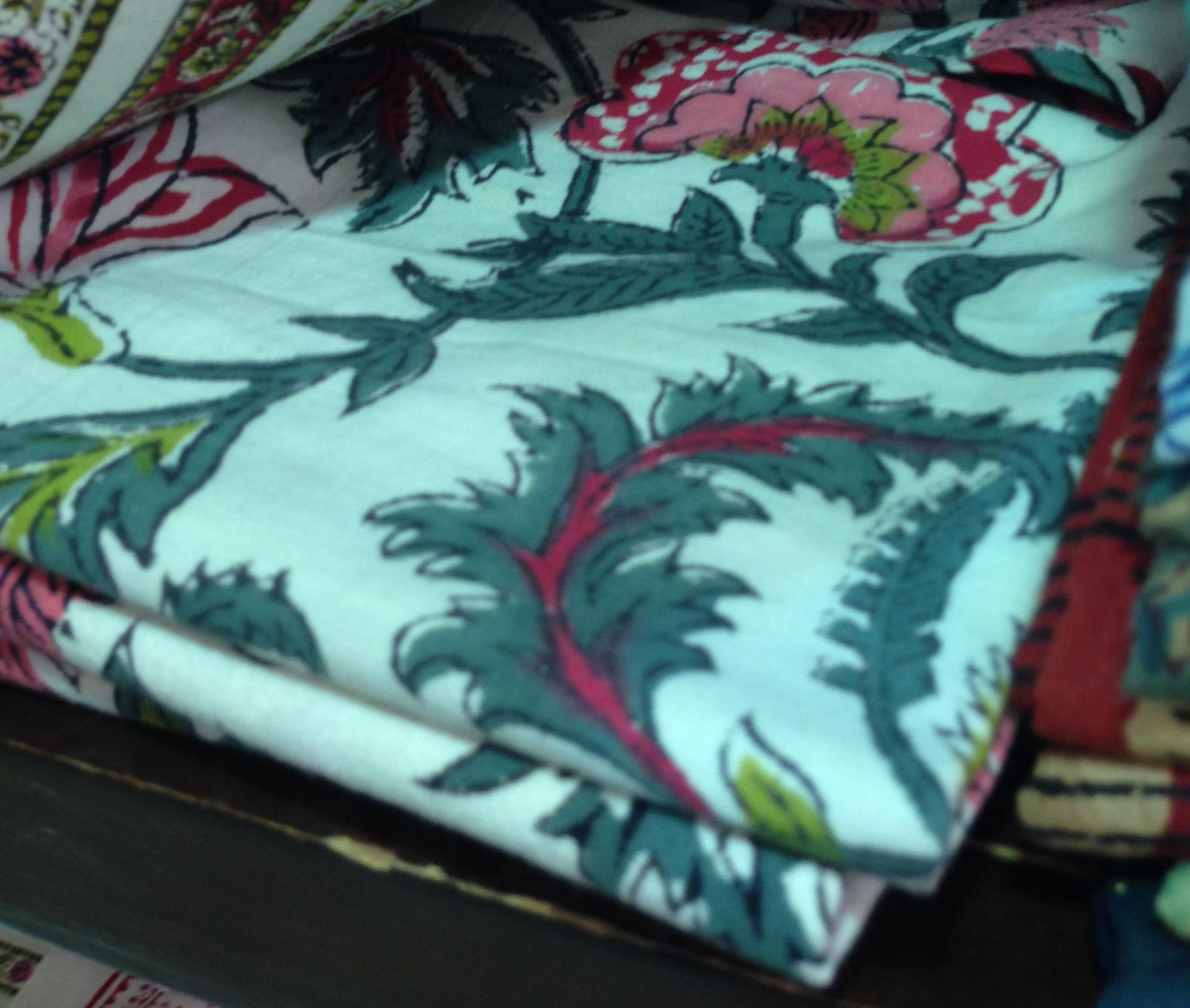 Anokhi square pillowcase