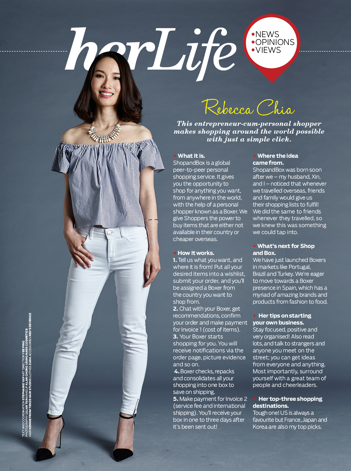 af7757361ca9 Interview: Her Life – Rebecca